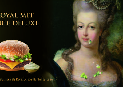 Royal with sauce deluxe